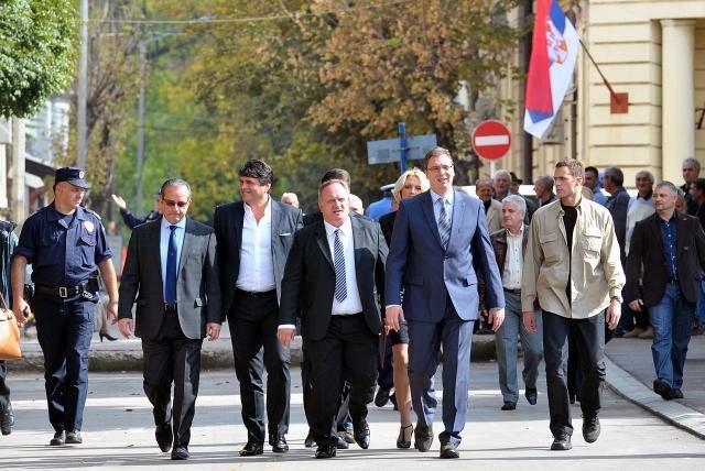 Vucic u Leskovcu